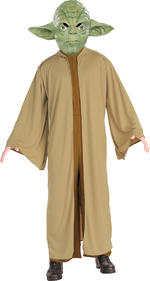 Mens Star Wars Yoda Costume Fancy Dress